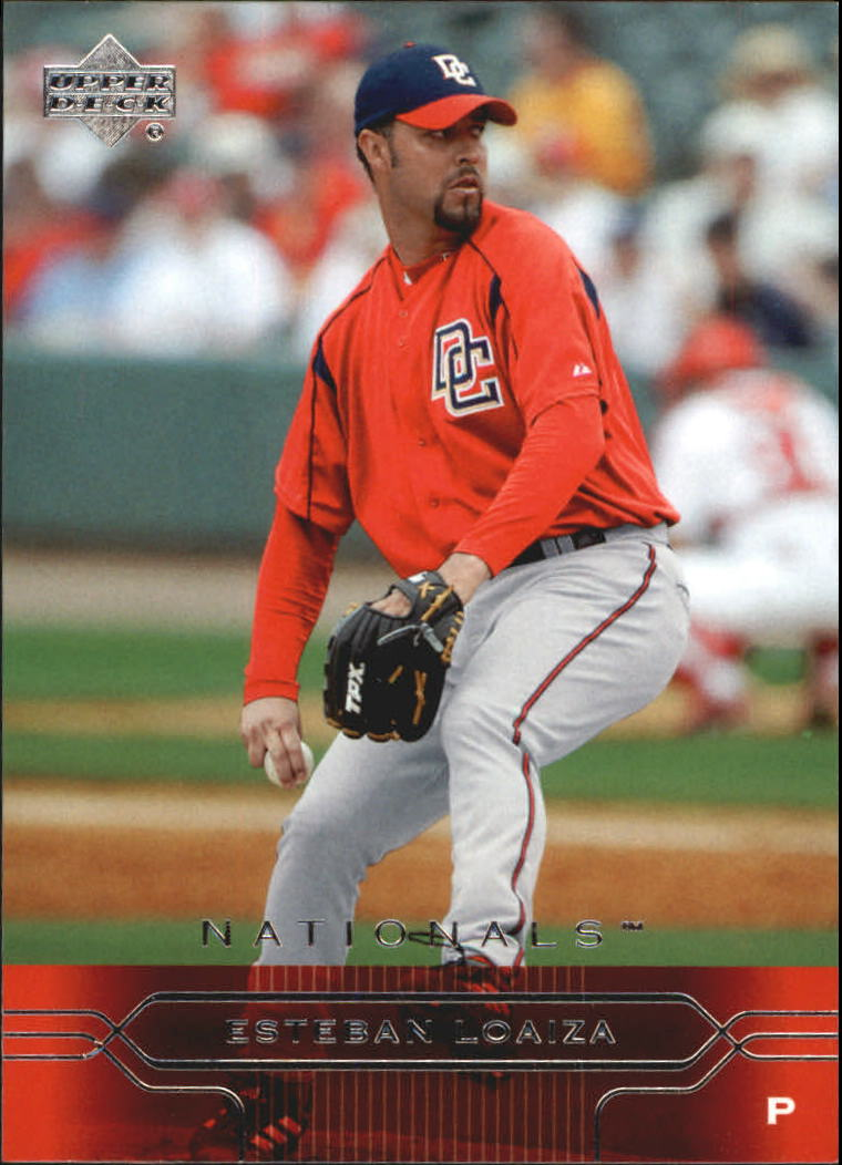 2005 Upper Deck #422 Esteban Loaiza