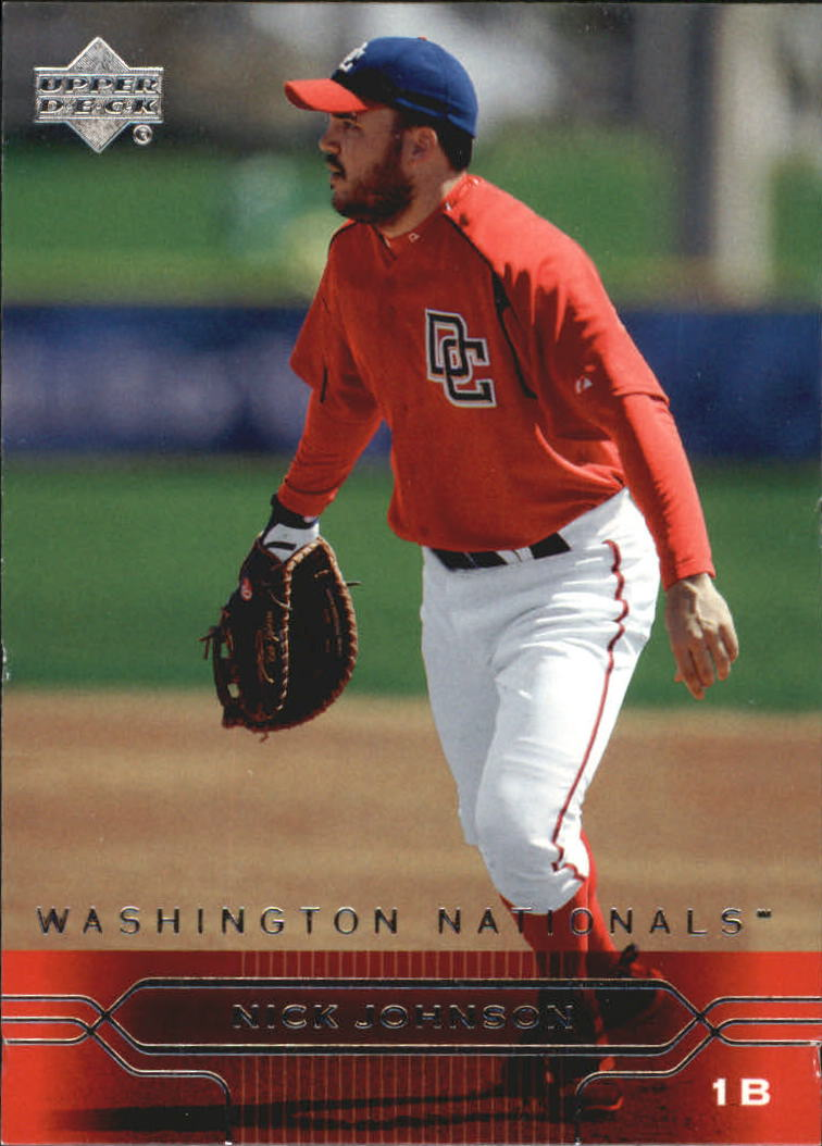 2005 Upper Deck #424 Nick Johnson