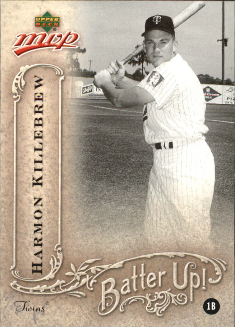 2005 Upper Deck MVP Batter Up! #15 Harmon Killebrew