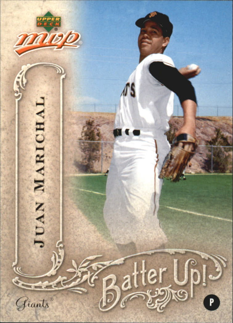 2005 Upper Deck MVP Batter Up! #21 Juan Marichal