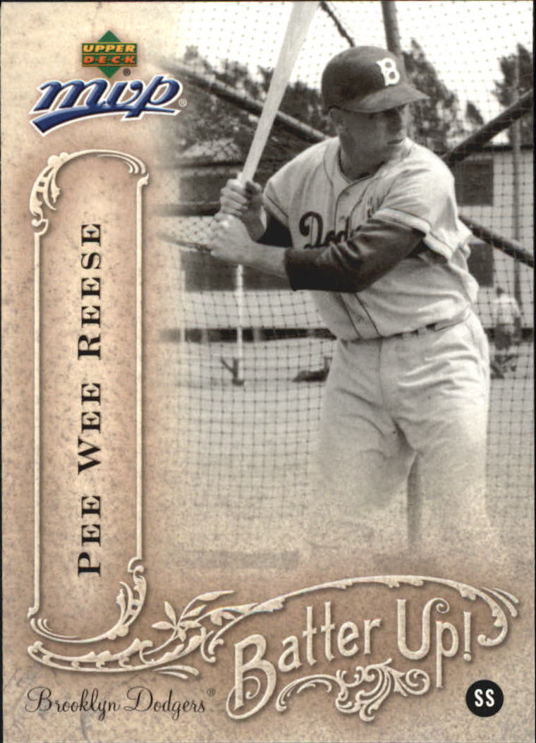 2005 Upper Deck MVP Batter Up! #29 Pee Wee Reese