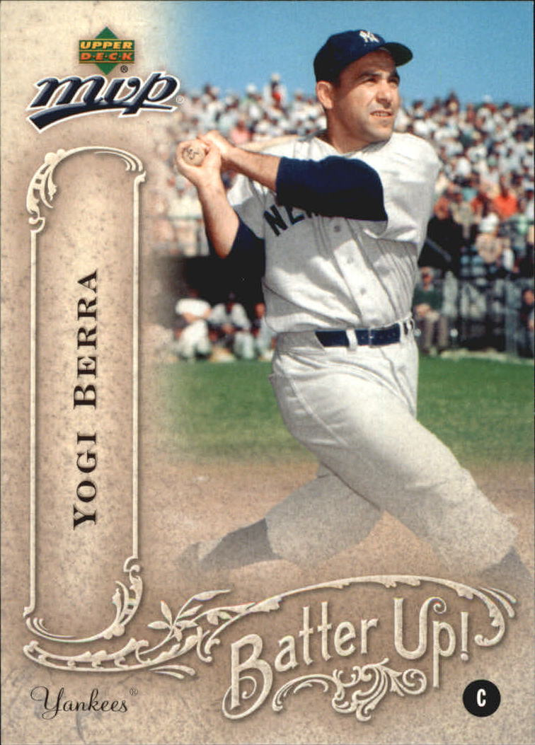 2005 Upper Deck MVP Batter Up! #42 Yogi Berra