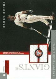 2005 Topps Pristine Personal Pieces Rare Relics #BB Barry Bonds AS Jsy *