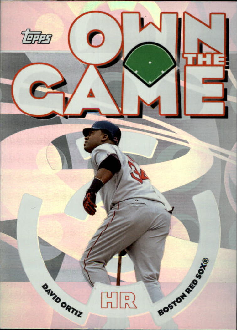 2006 Topps Own the Game #OG12 David Ortiz
