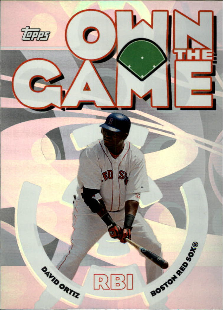 2006 Topps Own the Game #OG13 David Ortiz