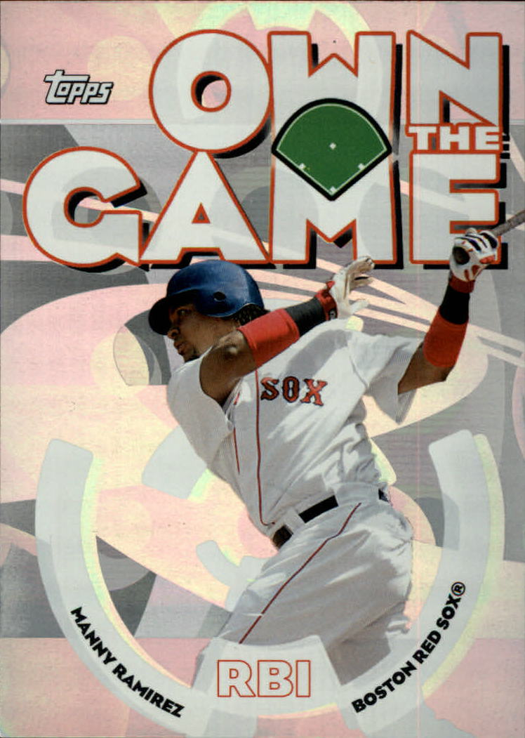 2006 Topps Own the Game #OG14 Manny Ramirez