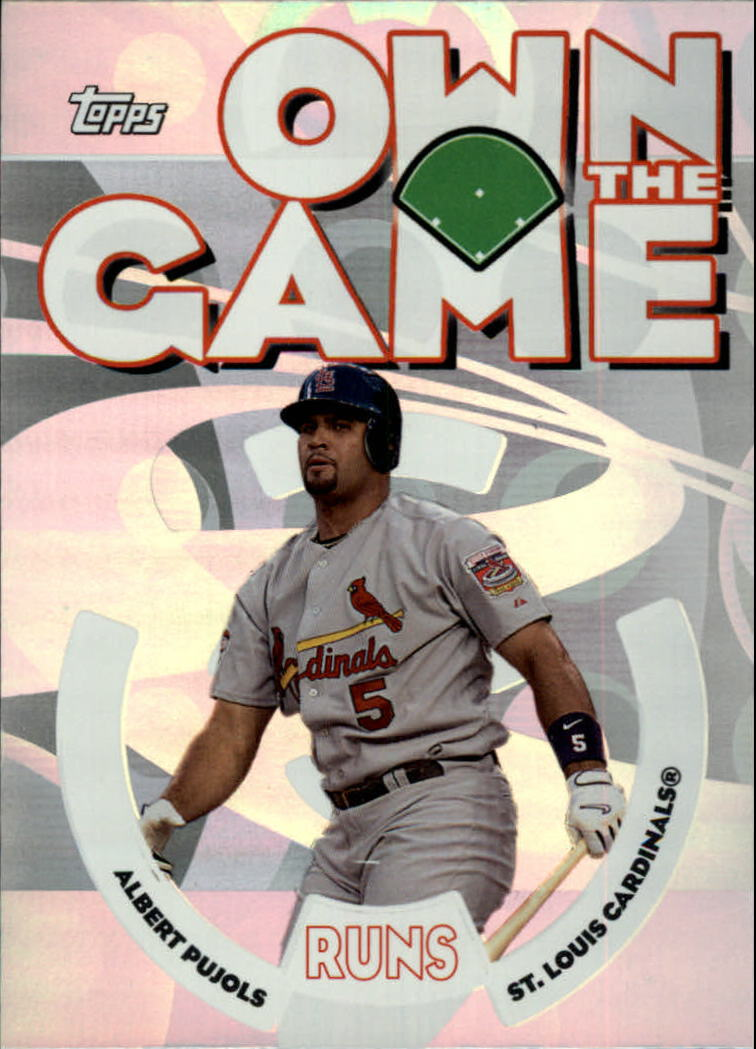 2006 Topps Own the Game #OG16 Albert Pujols