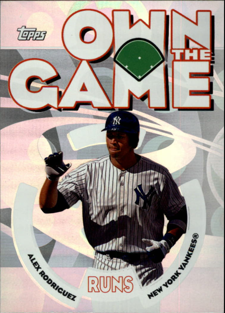 2006 Topps Own the Game #OG17 Alex Rodriguez
