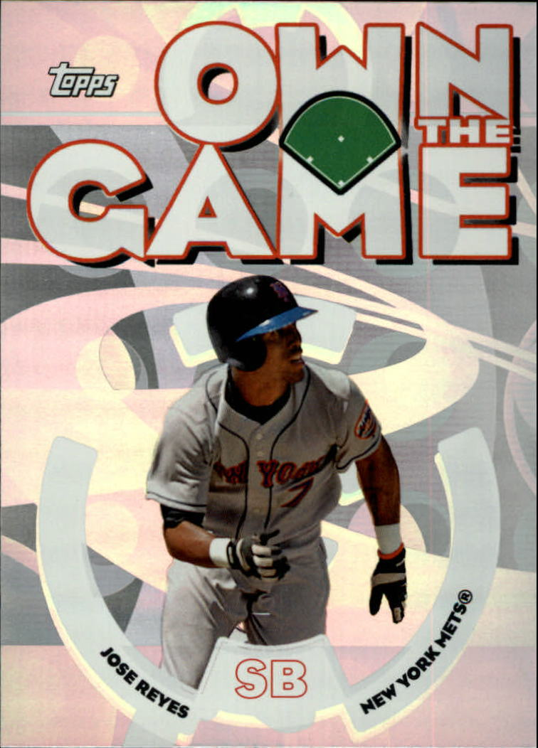 2006 Topps Own the Game #OG23 Jose Reyes