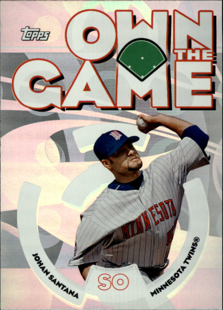 2006 Topps Own the Game #OG26 Johan Santana