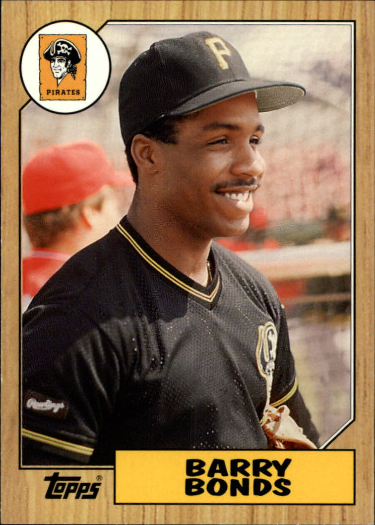 2006 Topps Rookie of the Week #2 Barry Bonds 87 front image
