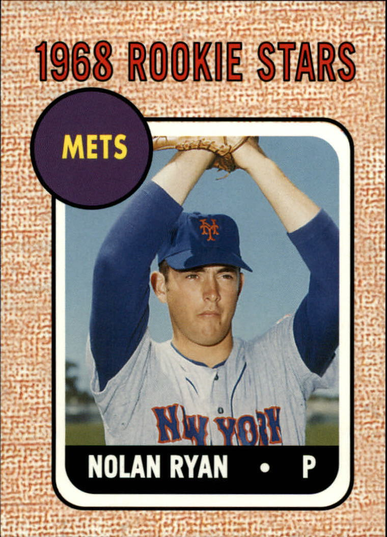 2006 Topps Rookie of the Week #5 Nolan Ryan 68