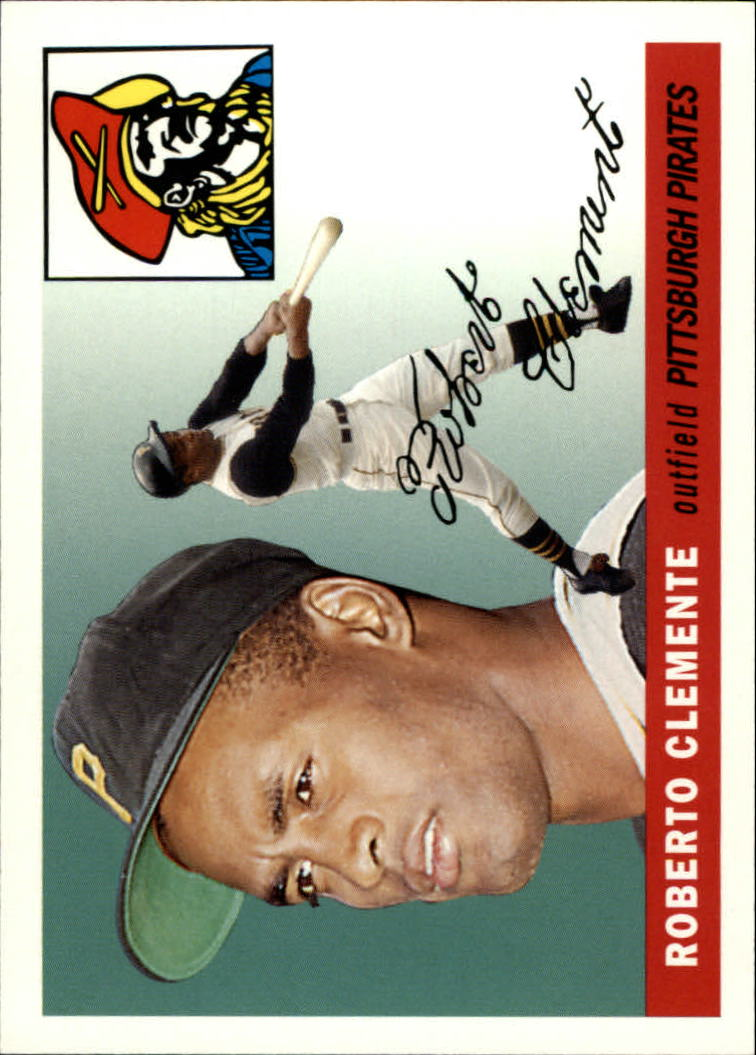2006 Topps Rookie of the Week #7 Roberto Clemente 55