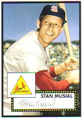 2006 Topps Wal-Mart #WM1 Stan Musial 52 S1