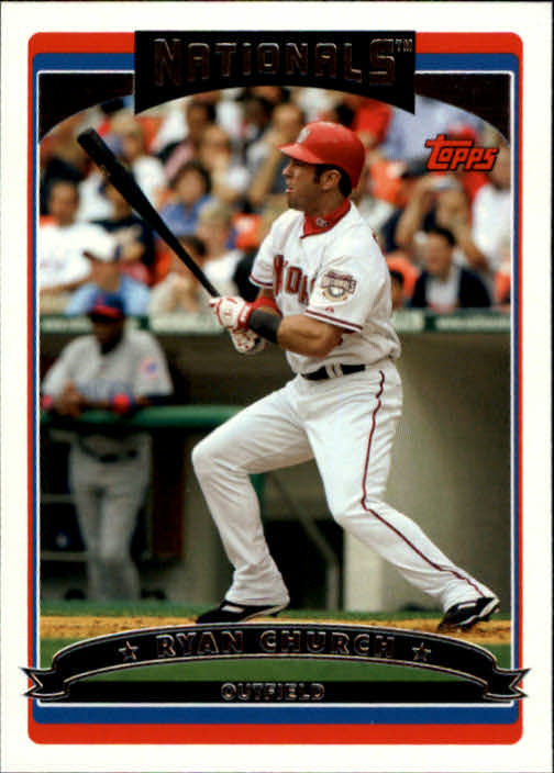 2006 Topps #154 Ryan Church