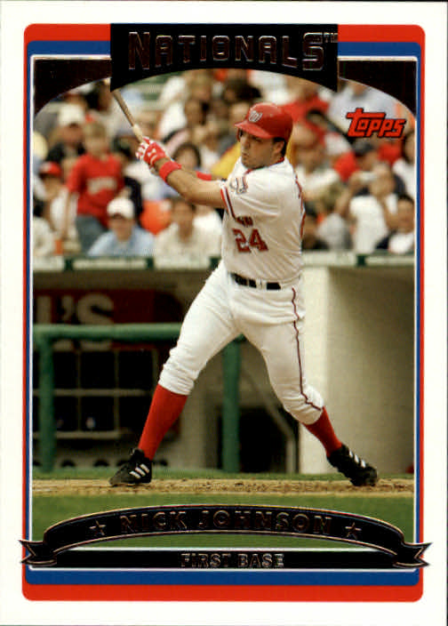 2006 Topps #190 Nick Johnson
