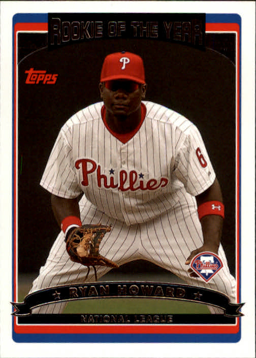 2006 Topps #265 Ryan Howard ROY