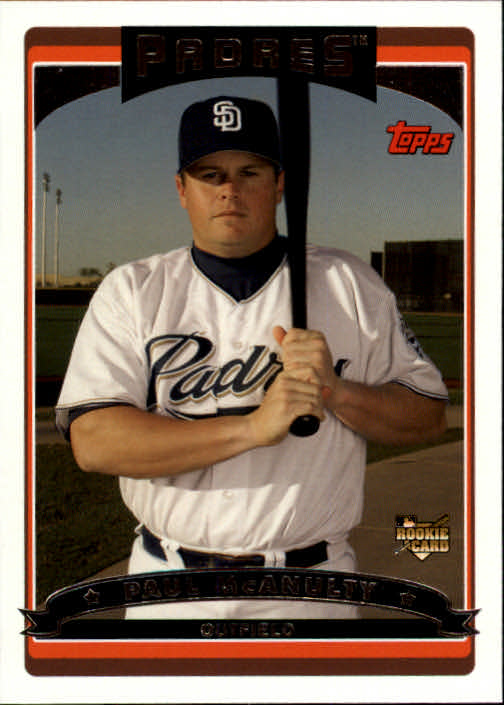 2006 Topps #325 Paul McAnulty (RC)