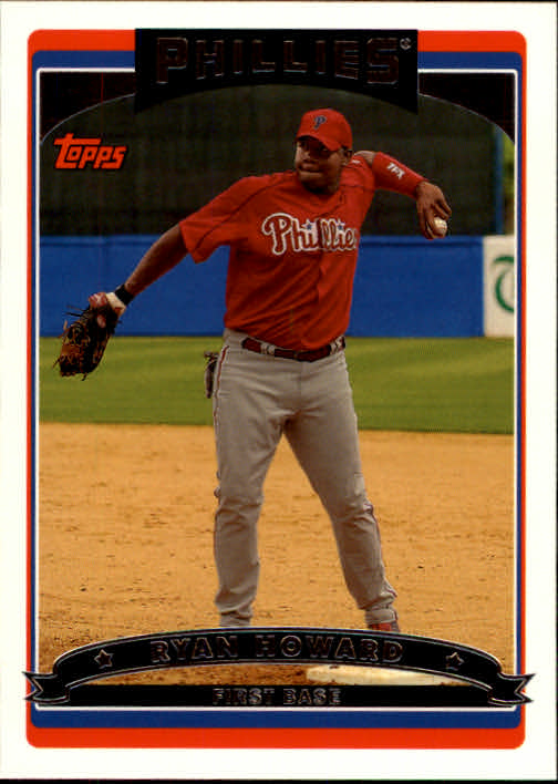 2006 Topps #398 Ryan Howard