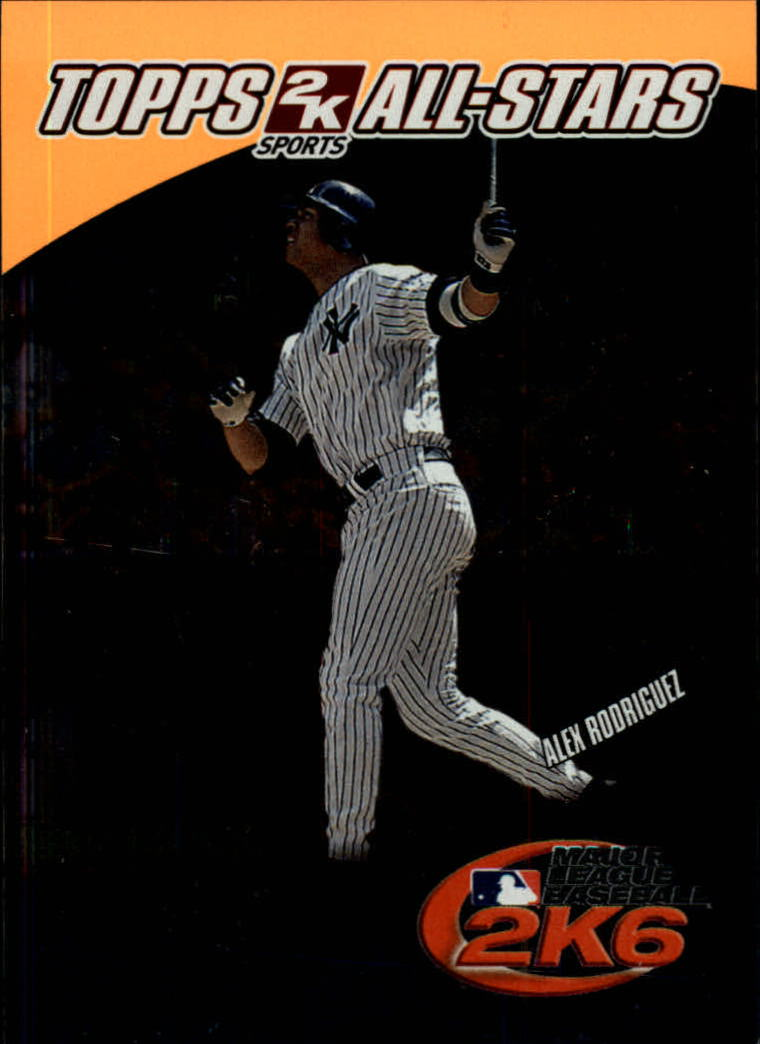 2006 Topps 2K All-Stars #9 Alex Rodriguez