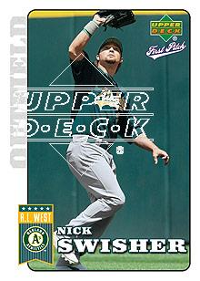2006 Upper Deck First Pitch #141 Nick Swisher