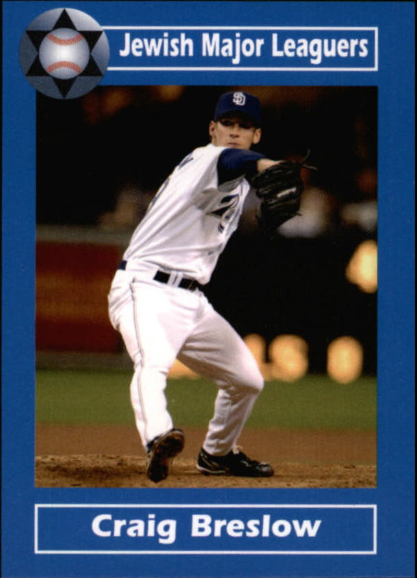 2006 Jewish Major Leaguers Update #17 Craig Breslow