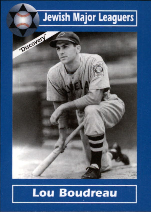 2006 Jewish Major Leaguers Update #24 Lou Boudreau