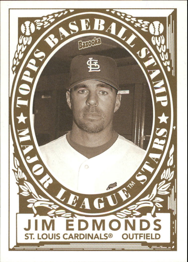 2006 Bazooka Stamps #7 Jim Edmonds