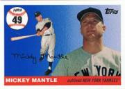 2006 Topps Mantle Home Run History #49 Mickey Mantle