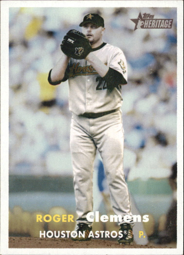 2006 Topps Heritage #200A R.Clemens On Mound