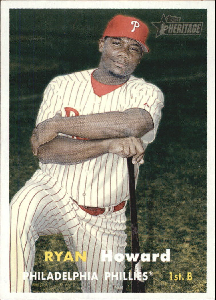 2006 Topps Heritage #219 Ryan Howard