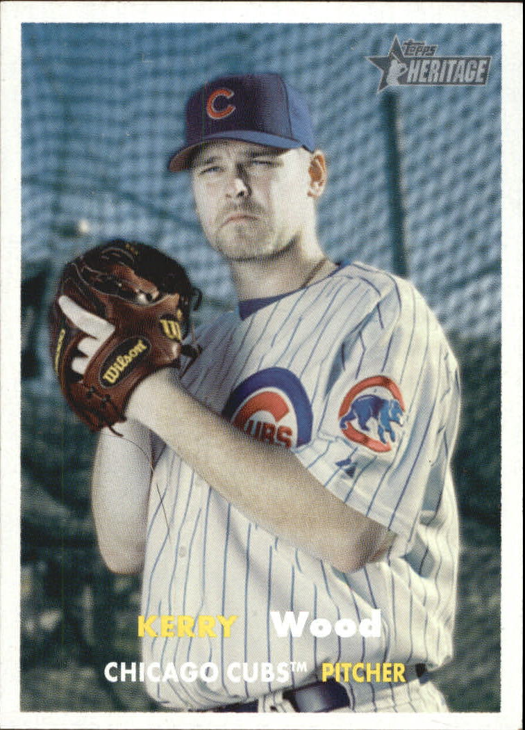 2006 Topps Heritage #239 Kerry Wood