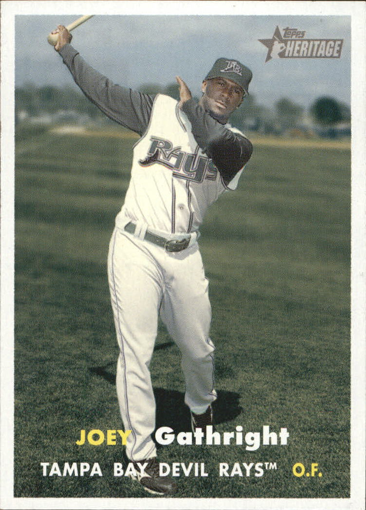 2006 Topps Heritage #279 Joey Gathright SP