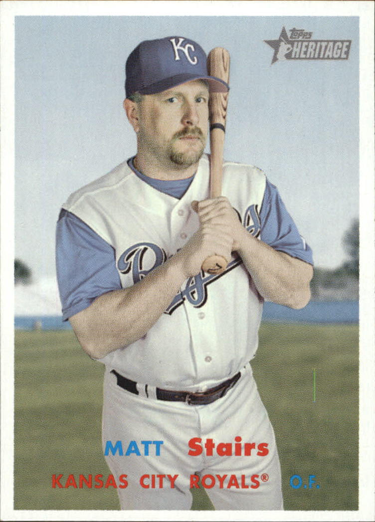 2006 Topps Heritage #310 Matt Stairs SP