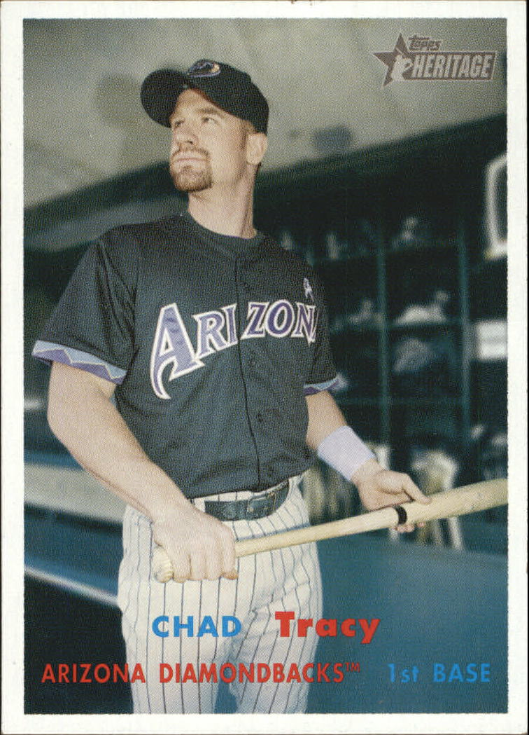 2006 Topps Heritage #311 Chad Tracy SP