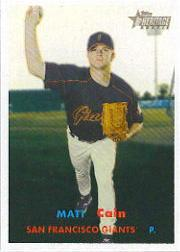 2006 Topps Heritage #312 Matt Cain SP