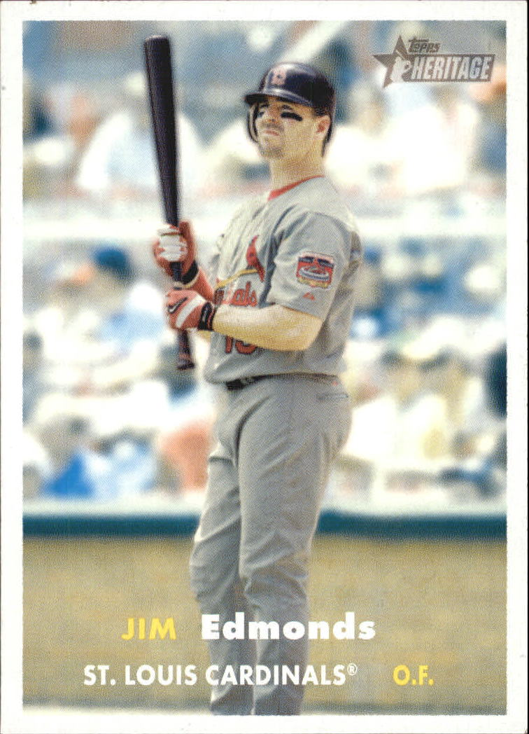 2006 Topps Heritage #372 Jim Edmonds
