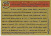 2006 Topps Heritage #400 Astros Aces SP back image