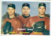 2006 Topps Heritage #400 Astros Aces SP front image