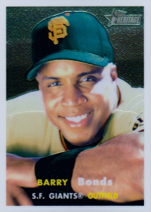 2006 Topps Heritage Chrome #50 Barry Bonds