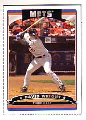 2006 Topps Box Bottoms #16 David Wright