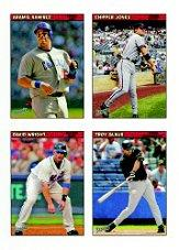 2006 Bazooka 4 on 1 Stickers #36 Aramis/Chip/Wright/Glaus