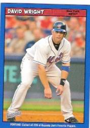 2006 Bazooka Blue Fortune #69 David Wright