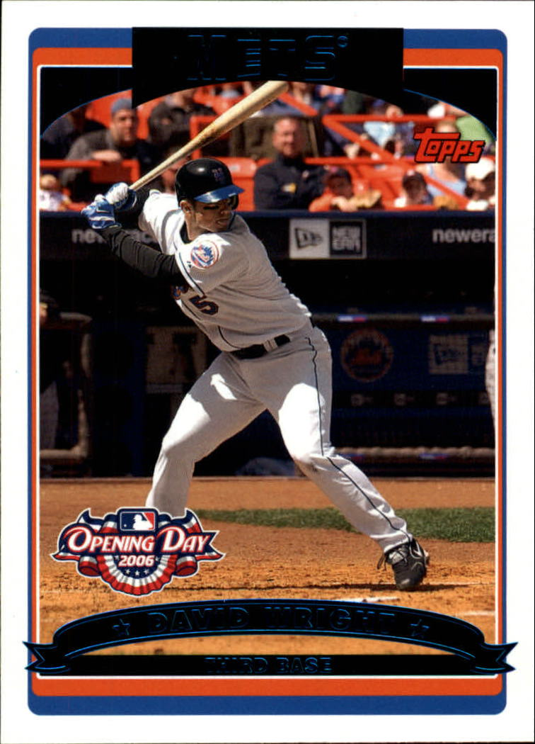 2006 Topps Opening Day #16 David Wright