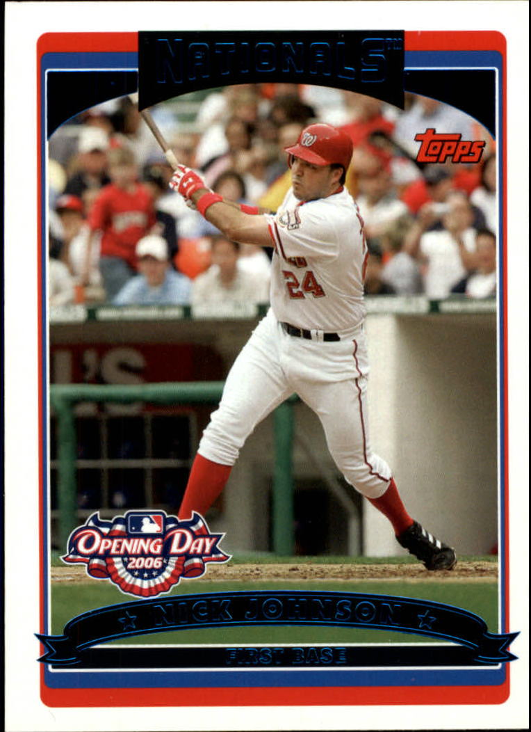 2006 Topps Opening Day #28 Nick Johnson