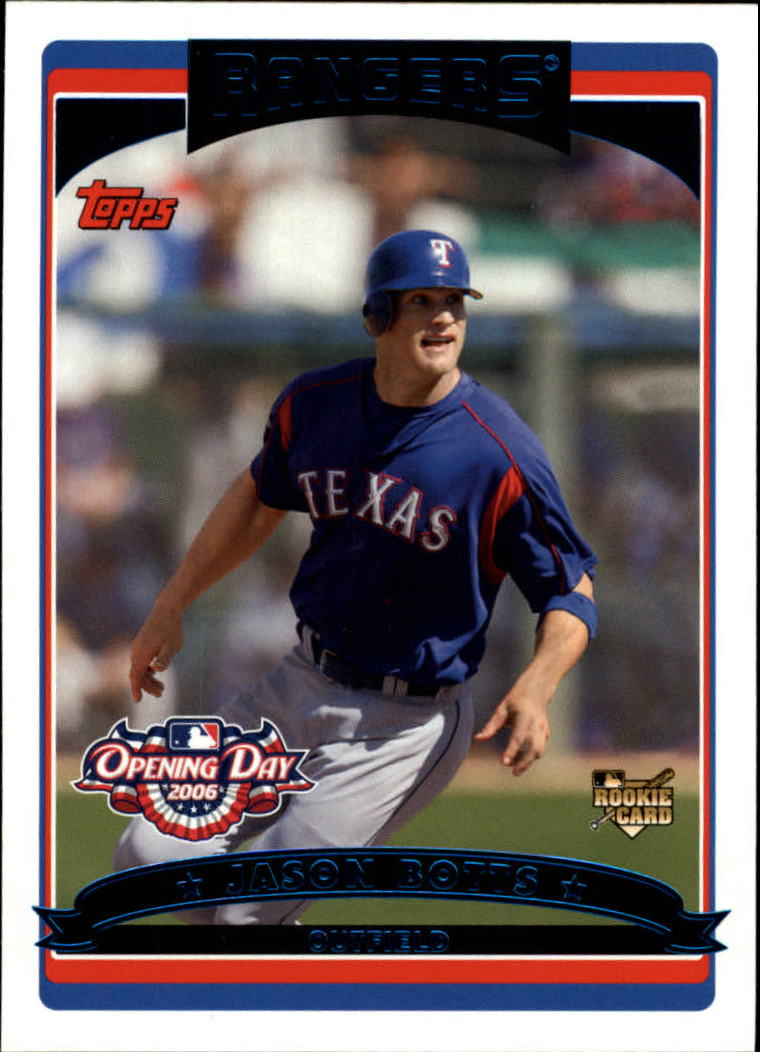 2006 Topps Opening Day #137 Jason Botts (RC)