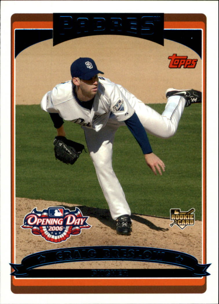 2006 Topps Opening Day #155 Craig Breslow RC