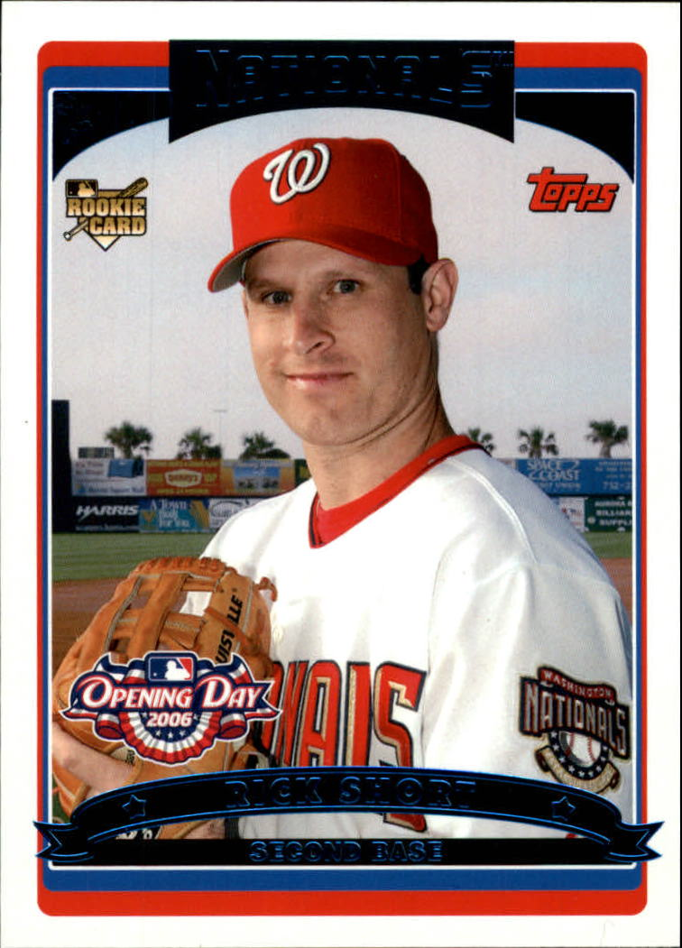 2006 Topps Opening Day #159 Rick Short (RC)