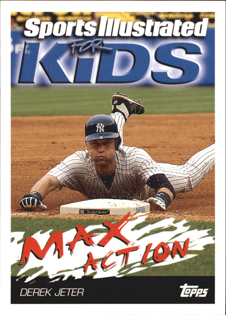 2006 Topps Opening Day Sports Illustrated For Kids #4 Derek Jeter