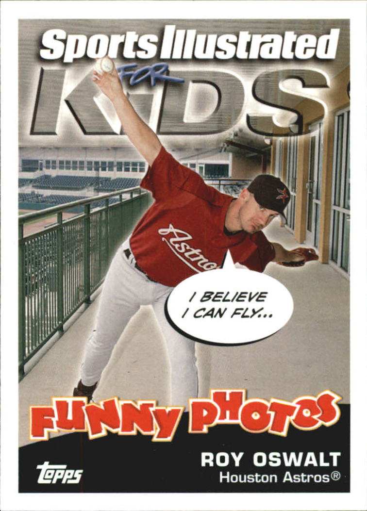 2006 Topps Opening Day Sports Illustrated For Kids #18 R.Oswalt/J.Reyes